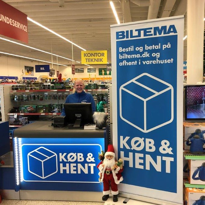 Biltema steps into the future with Pay&Collect