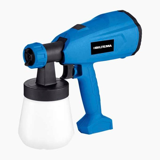 Electrical paint spray guns