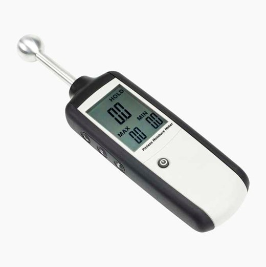 Moisture & humidity measuring device