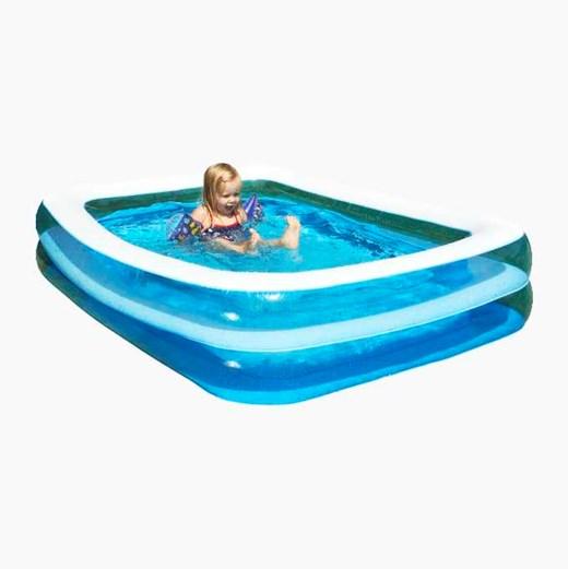 Fin Pool, rammepools, soppe- og badebassin til hele familien - Biltema.dk WS-89